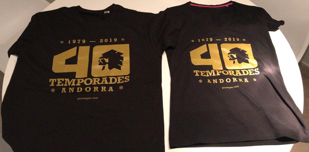 Camiseta con un diseño personalizado