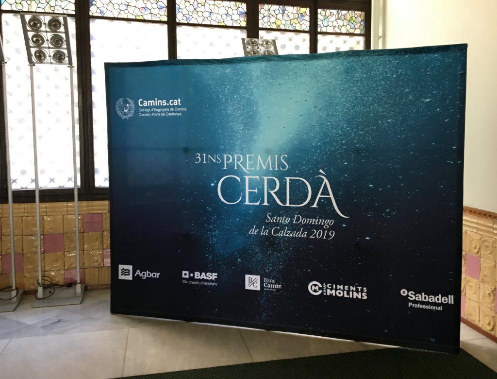 Photocall de los premios Cerdà.