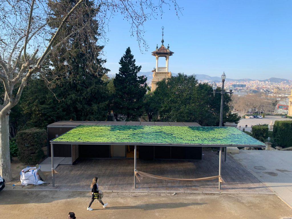 Lonas ecológicas en espacios urbanos