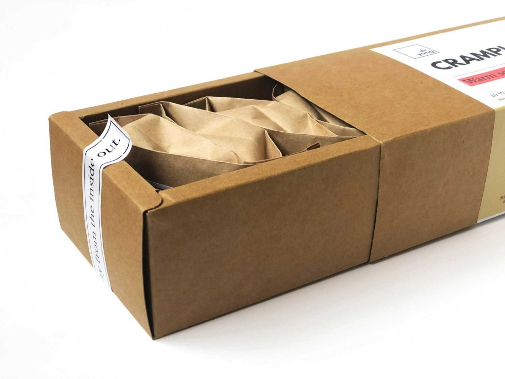 Embolcall o packaging de paper totalment reciclable